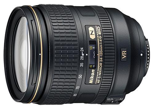 Nikon 24-120mm f/4G VR Revisión