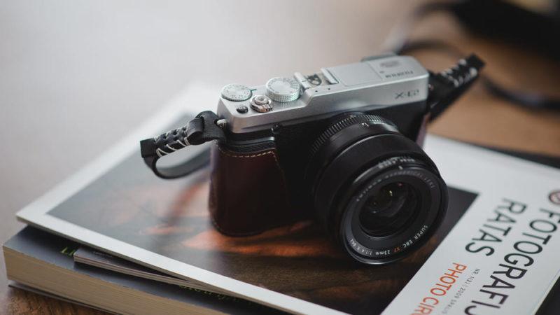Funda de cuero Gariz para Fujifilm X-E1/X-E2 Review