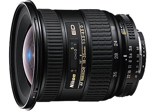Nikon 18-35mm f/3.5-4.5D Revisión
