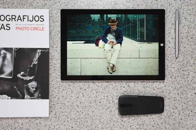 Revisión de Microsoft Surface Pro 3: Fotografía y Escritura