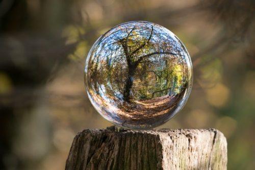 Consejos para la fotografía de la bola de lentes