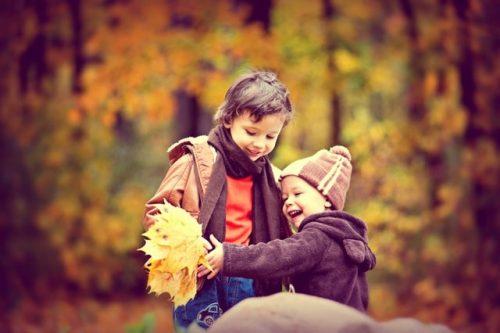fotos familia otoño